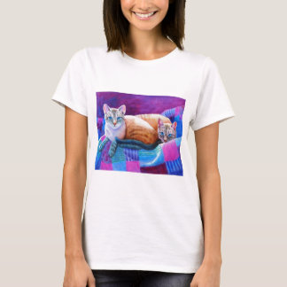 Lynx Point Siamese Cats T-Shirt