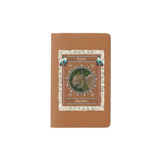 Lynx  -Secrets-  Notebook Moleskin Cover