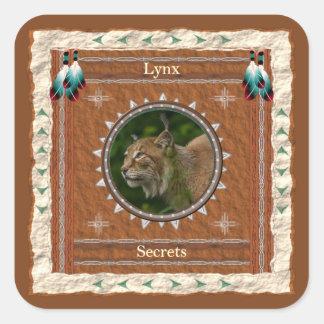 Lynx  -Secrets-  Stickers - 20 per sheet