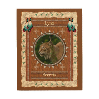 Lynx  -Secrets-  Wood Canvas