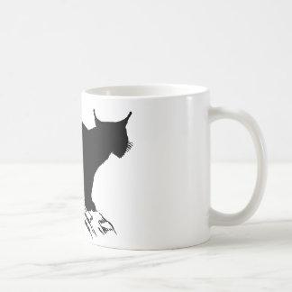 Lynx Silhouette Coffee Mug