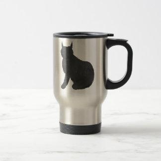 Lynx Silhouette Travel Mug