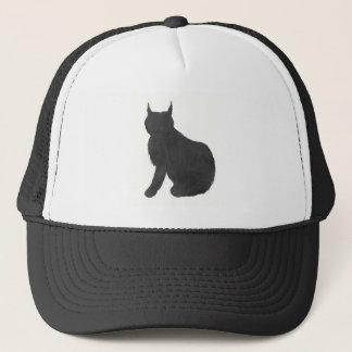 Lynx Silhouette Trucker Hat