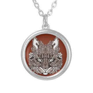 Lynx Silver Plated Necklace