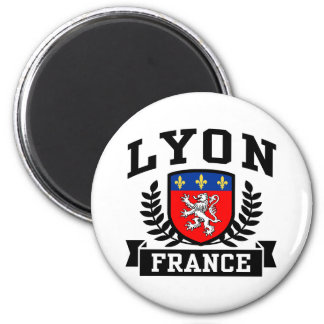 Lyon 6 Cm Round Magnet