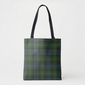Lyon Clan Tartan Tote Bag