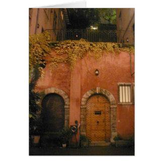 Lyon Courtyard (Blank Card) Card