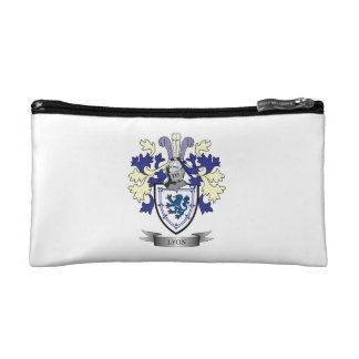 Lyon Family Crest Coat of Arms Cosmetic Bag