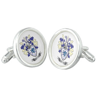 Lyon Family Crest Coat of Arms Cufflinks