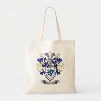 Lyon Family Crest Coat of Arms Tote Bag