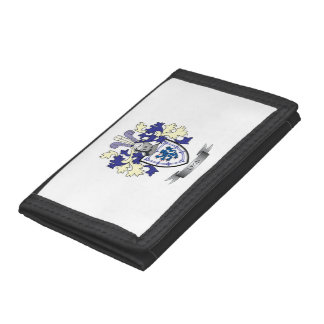 Lyon Family Crest Coat of Arms Trifold Wallet