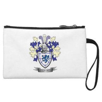 Lyon Family Crest Coat of Arms Wristlet