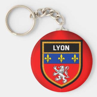 Lyon Flag Key Ring