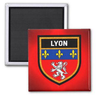 Lyon Flag Magnet