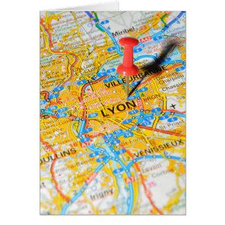 Lyon, France Card