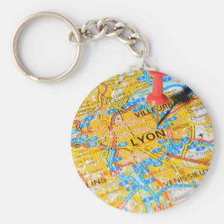 Lyon, France Key Ring