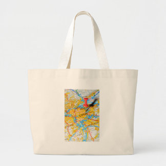 Lyon, France Large Tote Bag