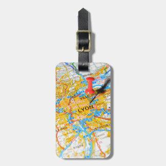 Lyon, France Luggage Tag