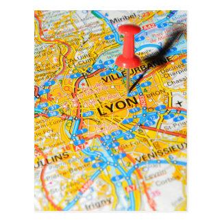 Lyon, France Postcard