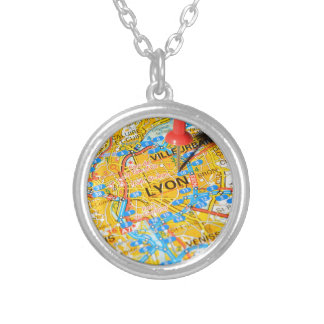 Lyon, France Silver Plated Necklace