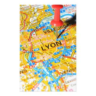 Lyon, France Stationery