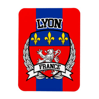 Lyon Rectangular Photo Magnet