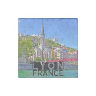Lyon Stone Magnet