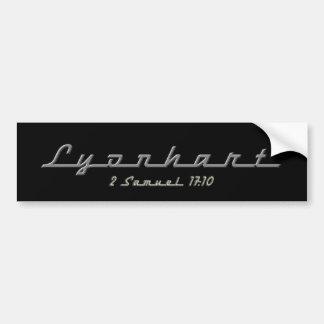 Lyonhart Bumper Sticker