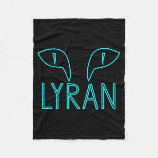 Lyran Cat Fleece Blanket