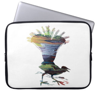 Lyrebird Laptop Sleeve