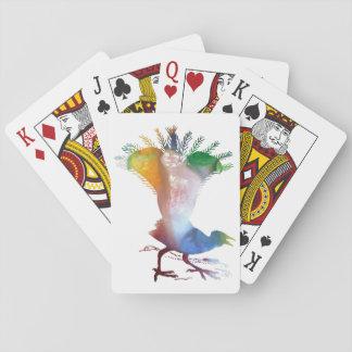 Lyrebird Playing Cards