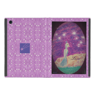Lyric Fantasy Nightingale Starry Background Case For iPad Mini