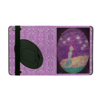 Lyric Fantasy Nightingale Starry Background iPad Case