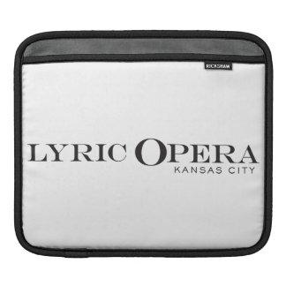 Lyric Opera of Kansas City iPad Case iPad Sleeve