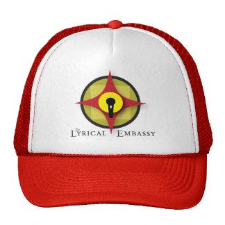 Lyrical ambassador trucker hat