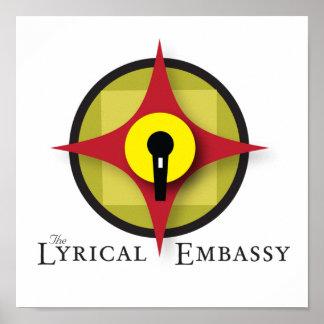 Lyrical ambassador poster