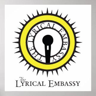 Lyrical ambassador print