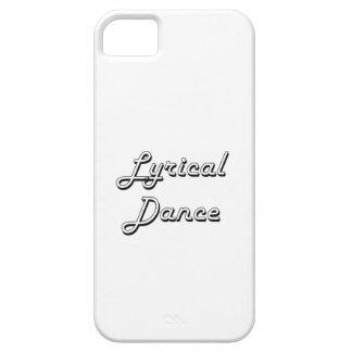 Lyrical Dance Classic Retro Design iPhone 5 Covers