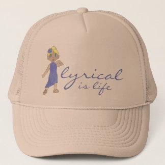 Lyrical Is Life Love Modern Dance Teacher Dancer Trucker Hat