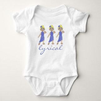 Lyrical Modern Dance Recital Purple Costume Dancer Baby Bodysuit