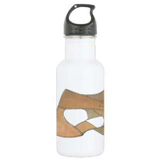 Lyrical Tan Modern Dance Teacher Shoe Recital Gift 532 Ml Water Bottle