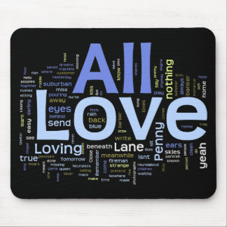 Lyrics Mousepad