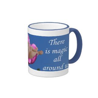 Lysanthius Flower Baby drinkware Ringer Mug