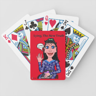 Lyza is Lying: The New Truth Bicycle Playing Cards