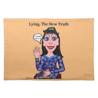 Lyza is Lying: The New Truth Placemat