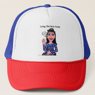 Lyza is Lying: The New Truth Trucker Hat