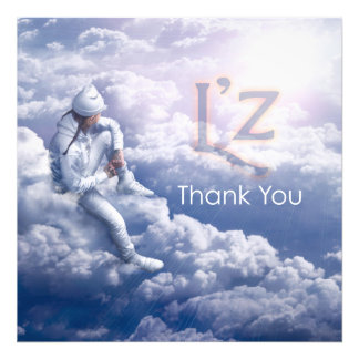 "L'z ""Thank You"" 24"" x 24"" Professional Photo Print"