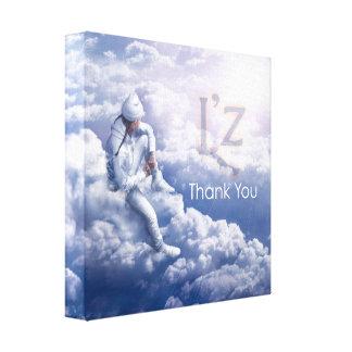 "L'z ""Thank You"" Premium Wrap Canvas 12""x12"", 1.5"" Gallery Wrap Canvas"