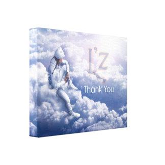 """L'z """"Thank You"""" Premium Wrap Canvas 14""""x11"""", 1.5"""" Canvas Print"""