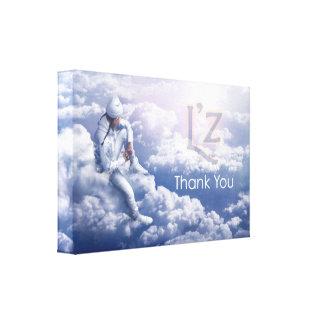"""L'z """"Thank You"""" Premium Wrap Canvas 24""""x16"""", 1.5"""" Canvas Print"""